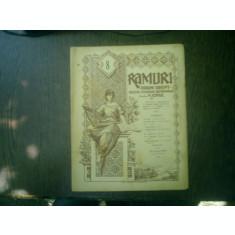 Ramuri - Drum drept revista literara saptamanala anul XVI nr. 8 19 februarie 1922 - N. Iorga