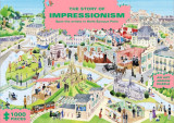 The Story of Impressionism (1000-Piece Art History Jigsaw Puzzle) 1000-Piece Art History Jigsaw Puzzle