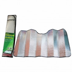 Parasolar parbriz folie aluminiu 2 fete, 70 x 150 cm RO GROUP 999IN1914