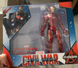 Figurina Iron Man Marvel Avengers Infinity War 17 cm MCU civil war