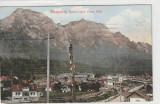 Busteni ,Vedere spre   Valea Alba, Circulata, Printata