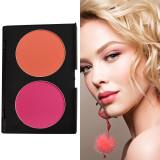 Trusa Blush & Pudra fata 2 culori Fraulein38 Peach N Pitch #02