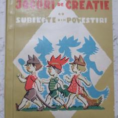 Jocuri de creatie  Lovinescu
