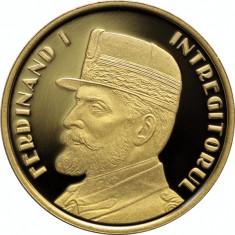 Moneda 50 Bani 2019 PROOF Desăvârșirea Marii Uniri Regele Ferdinand