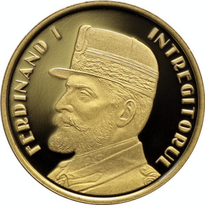 50 Bani 2019 PROOF in capsula - Ferdinand I Intregitorul