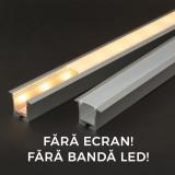 Profil aluminiu pt. benzi LED, 35x28 mm, 1m Best CarHome