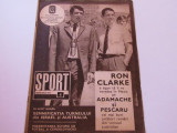 Revista SPORT-nr.4/02.1970 (echipa de fotbal a Romaniei)