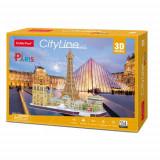 Cumpara ieftin Puzzle 3D - Paris, 114 Piese, CubicFun