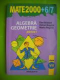 HOPCT MATE 2000  6/7 ALGEBRA GEOMETRIE CL VII DAN BRANZEI-PARTEA I-215  PAG