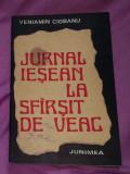 Jurnal iesean la sfarsit sfirsit de veac  : (1775-1800) / Veniamin Ciobanu