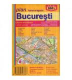 Harta orasului Bucuresti scara 1:20 000