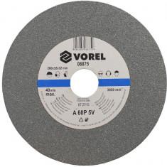 Disc abraziv fin pentru polizor de banc 200x32x30 mm VOREL