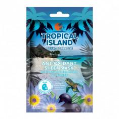 Masca de fata, Marion, Tropical Island Phuket Paradise, albastru, 1 bucata