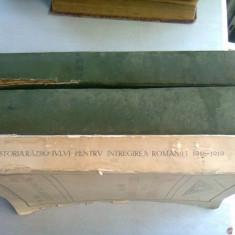 ISTORIA RAZBOIULUI PENTRU INTREGIREA ROMANIEI 1916-1919 DE CONSTANTIN KIRITESCU ,VOLUMELE I-III ,EDITIA A-II-A ,REFACUTA IN INTREGIME SI MULT ADAUGITA