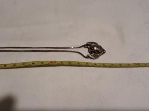 MEDALION argint aurit SCARABEU vechi MASIV exceptional EGIPT + Lant argint aurit
