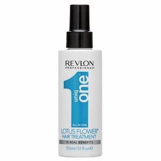 Revlon Professional Uniq One Lotus Flower Hair Treatment spray pentru întărire, fără clătire pentru păr deteriorat 150 ml