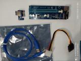 Riser USB la PCI Express 1x 16x -Mining Rig /crypto/btc/eth