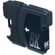 Cartus compatibil LC1100 LC980 LC61 Black pentru imprimante Brother