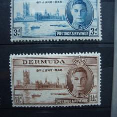 BERMUDA 1946 SERIE MH GEORGE VI