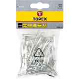 Nituri de aluminiu topex 43E302 HardWork ToolsRange