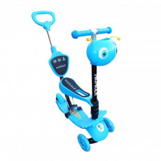 Trotineta copii smart 3in1 BLUE