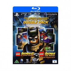Lego Batman 2 Dc Superheroes Batman The Movie Ps3