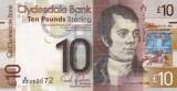 Scotia 10 Pounds (Clydesdale) 25.01.2015 UNC