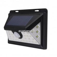 Lampa 32LED Incarcare Solara, Senzor Miscare si Lumina, 1 Faza On/Off