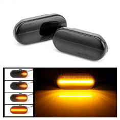 Set 2 bucati semnalizari dinamice LED VW,SEAT,Skoda Ford