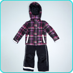 Costum ski—iarna, impermeabil,  practic, D-LAB SPORTS→ fete   4-5 ani   110 cm, Copii