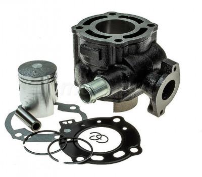 Kit Cilindru Set Motor Scuter Suzuki Zillion 49cc 50cc Racire APA foto
