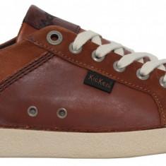 Pantofi sport cu siret Kickers 610170-60-114 camel