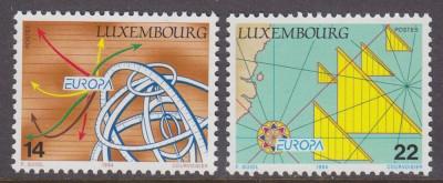 LUXEMBURG 1994 EUROPA CEPT foto