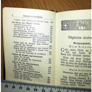 BIBLIE VECHE - CARTE RUGACIUNI -FUHRER ZUM HIMMEL , LB. GERMNA -1956