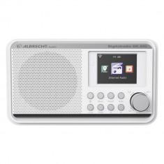 Aproape nou: Radio digital prin internet DAB si FM Albrecht DR 490 culoare Alb