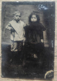Portrete copii, inceput 10 septembrie 1897// ferotipie romaneasca