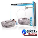 Cablu FTP cat6 conductor solid cuoru AWG24 50m/rola Konig