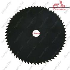 """Disc Taietor - Lama Trimmer 10"""" - 80 Dinti  Motocoasa Moto Coasa Moto Cositoare"""