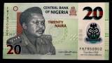 Nigeria 20 Naira 2019 UNC necirculata **