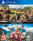 Far Cry 4 + Far Cry 5 Ps4