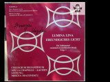 Muzica religioasa Lumina lina/Azi se incepe 2 discuri vinil made in Germany