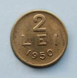 ROMANIA  -  2 Lei 1950