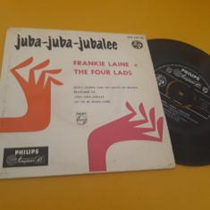 VINIL JUBA-JUBA-JUBALEE-FRANKIE LAINE AND THE FOURS LADS DISC PHILIPS STARE FB