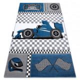 Covor PETIT RACE FORMULA 1 MAȘINĂ albastru, 180x270 cm