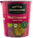 Mancare bio la pahar Dhal-Cuscus gust indian NATUR COMPAGNIE