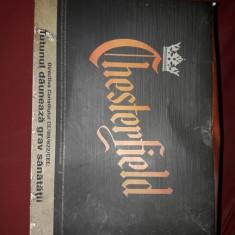 cutie mare vintage de tigari CHESTERFIELD,26 cm/19,5 cm/10 cm,stare foto,T.GRAT