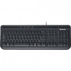 Tastatura microsoft 600 wired multimedia negru