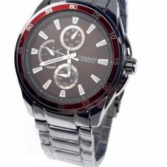 Ceas de mana barbati elegant, argintiu - Curren - 8076NSILVER