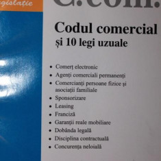 CODUL COMERCIAL SI 10 LEGI UZUALE - ***