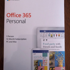 Microsoft Office 365 Personal PC & MAC 1 utilizator 1 an